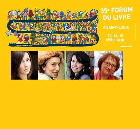 Forum du livre de Saint-Louis 2018