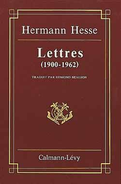 Lettres (1900-1962)